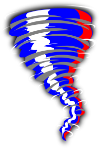 Texas Twister Tornado Logo